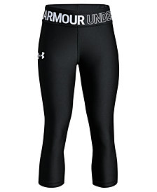 Under Armour HeatGear Armour Capri Leggings, Big Girls