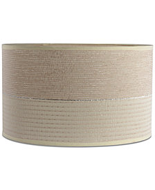 "Lite Source 15"" 2-Tone Textured Drum Shade"