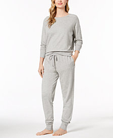 Lauren Ralph Lauren French Terry Pajama Top & Pants