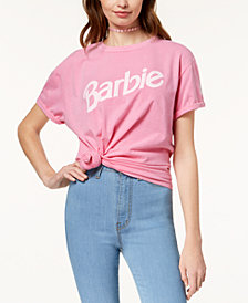 Barbie X Love Tribe Juniors' Logo Graphic T-Shirt