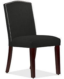 Callon Linen Dining Chair, Quick Ship