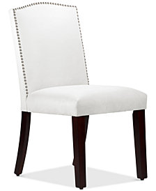 Callon Velvet Dining Chair, Quick Ship