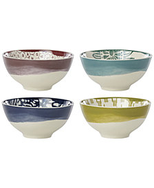 Lenox Market Place Assorted Dessert Bowls, Set of 4