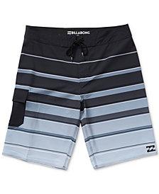 """Billabong Men's All Day X Stripe 21"""" Board Shorts"""