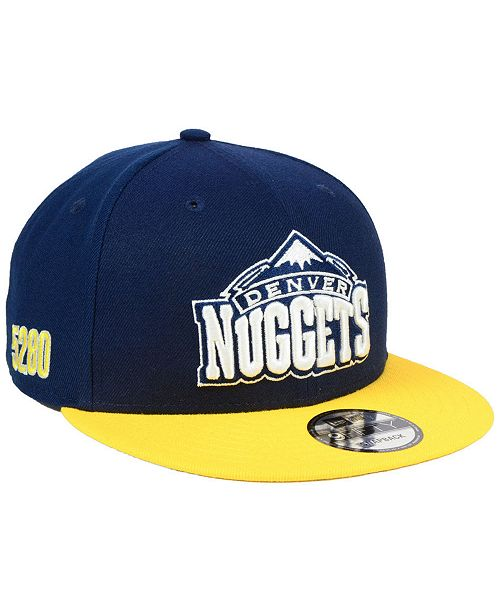 more photos 03ed3 526a9 ... New Era Denver Nuggets City Series 9FIFTY Snapback Cap ...