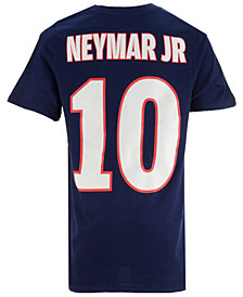 Nike Neymar Paris Saint-Germain Home Name and Number T-shirt, Big Boys (8-20)