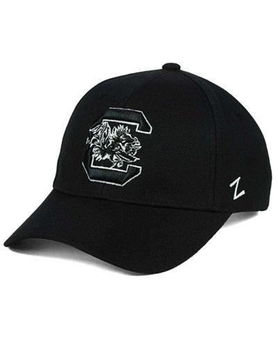 Zephyr South Carolina Gamecocks Black & White Competitor Cap