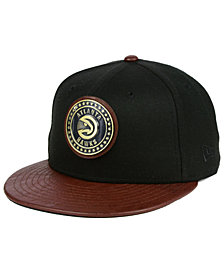 New Era Atlanta Hawks Butter Badge 9FIFTY Snapback Cap