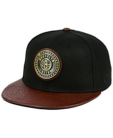 New Era Brooklyn Nets Butter Badge 9FIFTY Snapback Cap