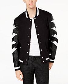 I.N.C. Men's Strokes Varsity Jacket, Created for Macy's