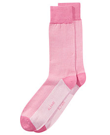 Alfani Men's Piqué Solid Dress Socks, Created for Macy's
