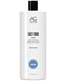 AG Hair Fast Food Sulfate-Free Shampoo, 33.8-oz., from PUREBEAUTY Salon & Spa
