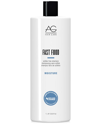 AG Hair Fast Food Sulfate-Free Shampoo, 33.8-oz., from PUREBEAUTY Salon & Spa