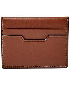 Fossil Men's Ellis Leather Magnetic Folded Card Case
