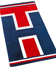 "Tommy Hilfiger Cotton 35"" x 66"" Tommy Iconic Beach Towel"