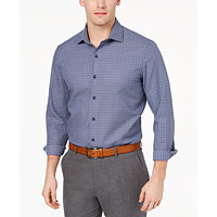 Tasso Elba Dobby Men's Shirt (Navy Combo)