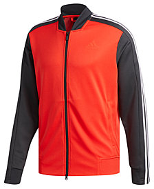 adidas Men's Colorblocked MX Bomber Track Jacket