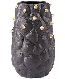 Zuo Black Cactus Medium Vase