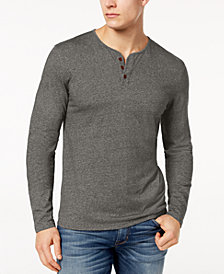 Lucky Brand Men's Heathered Henley