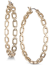 Ivanka Trump Open Geometric Hoop Earrings
