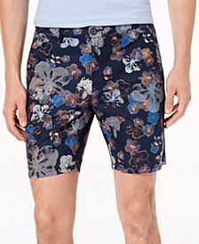"Daniel Hechter Paris Men's Andre Slim-Fit Floral 10"" Shorts"