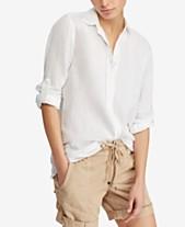 605c975fca Linen Shirts For Women  Shop Linen Shirts For Women - Macy s