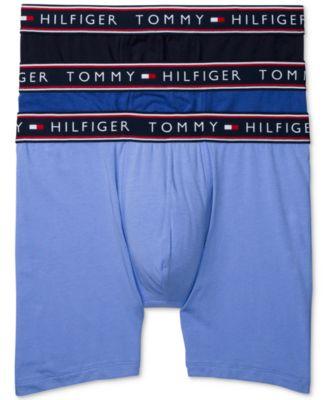 타미 힐피거 Tommy Hilfiger Mens 3-Pk. Cotton Stretch Boxer Briefs