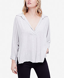 Free People Can't Fool Me Split-Front Top