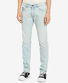 Calvin Klein Jeans Men's Slim-Fit Stretch Icy Blue Jeans