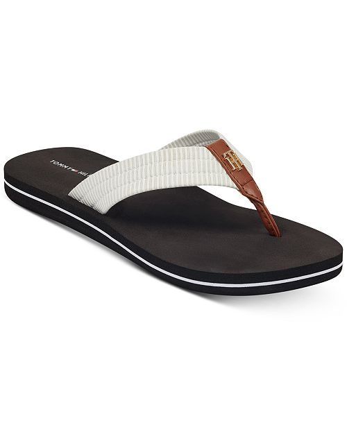 869eb8c72362 Tommy Hilfiger Women s Carsun Flip Flops   Reviews - Sandals ...
