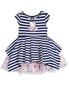 Hello Kitty Striped Dress, Baby Girls
