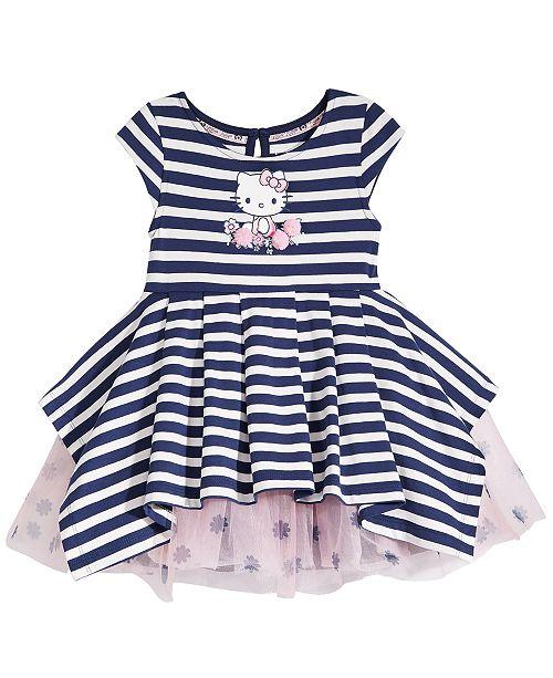 b85d62ad2d2e Hello Kitty Striped Dress