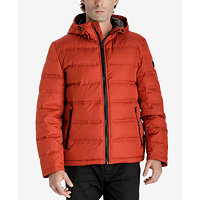 Michael Kors Men's Down Jacket (Red Ochre)