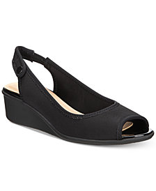 Charter Club Yameen Slingback Wedge Sandals, Created for Macy's