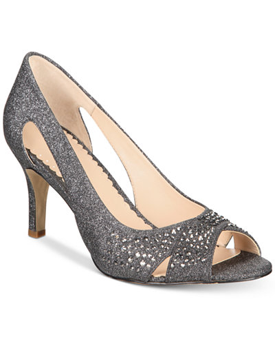 Charter Club Joeel Peep-Toe Pumps, Created for Macy's