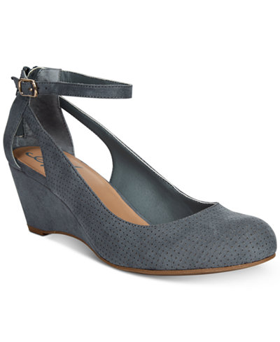 American Rag Miley Chop Out Wedges, Created for Macy's