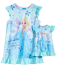 Disney's® Frozen Nightgown with Doll Nightgown, Toddler Girls