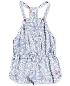 Roxy Salt Memory Romper, Big Girls