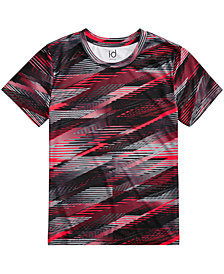 Ideology Glitch-Print T-Shirt, Big Boys, Created for Macy's