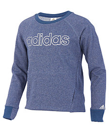 adidas Sparkle Pullover Sweatshirt, Big Girls