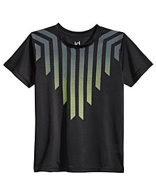Ideology Ombré Shield-Print T-Shirt, Big Boys, Created for Macy's