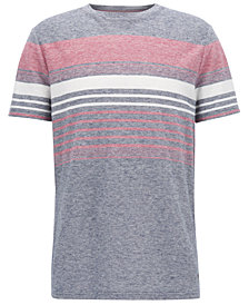 BOSS Men's Striped T-Shirt