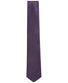 BOSS Men's Traveller Dotted Silk Tie
