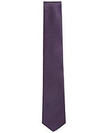 BOSS Men's Traveller Dotted Silk Tie