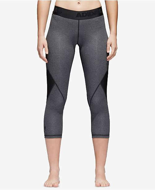 6152ad9dbf28f adidas Alphaskin ClimaCool® Cropped Leggings & Reviews - Pants ...