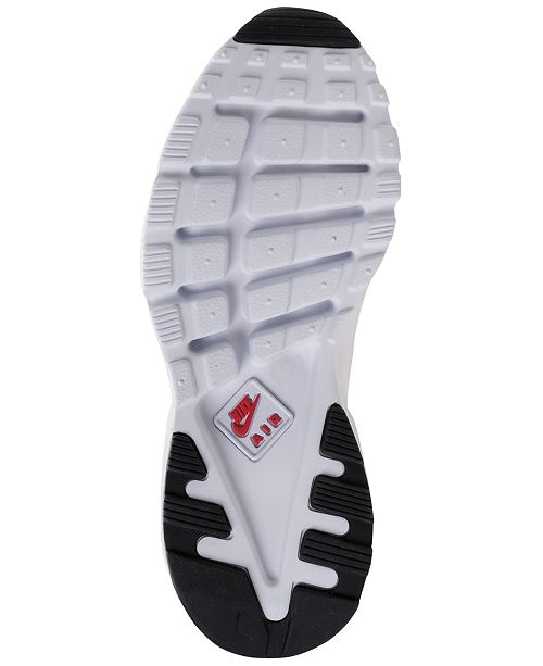 outlet store bc197 e119c Nike Big Boys  Air Huarache Run Ultra Running Sneakers from Finish ...