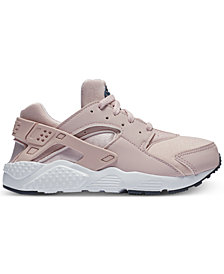 Nike Little Girls' Huarache Run Running Sneakers from Finish Line