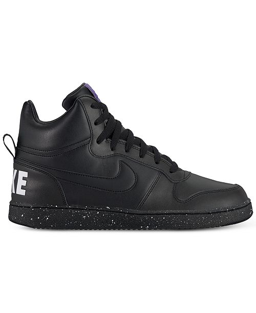 Nike Men s Court Borough Mid SE Casual Sneakers from Finish Line ... 67f3a59f4