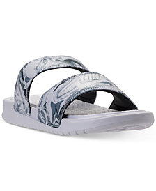 Nike Women's Benassi Duo Ultra Slide Sandals from Finish Line