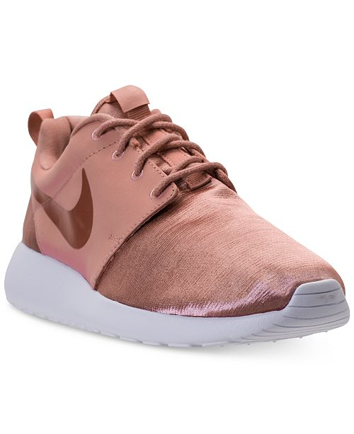 bbb0967dfe08 Nike Women s Roshe One Premium Casual Sneakers from Finish Line ...
